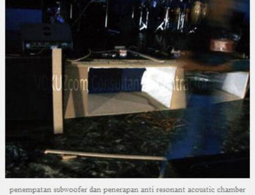 Night Club & Bar Audio System Calibration – The Ritz Carlton Hotel Kuningan