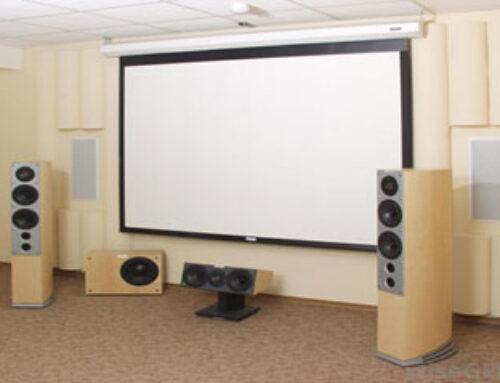 Cara Membuat Design  Home Theater Audio Video System